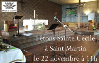 Ste Cecile a St Martin