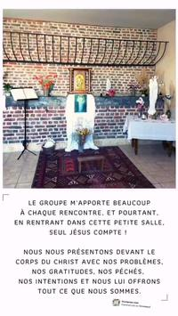 pelerins_confinés_adoration-chapelle 2