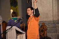 Merci à Hugo, le chef de chœur et aux musiciens et choristes qui ont rendu la célébration encore plus lumineuse !