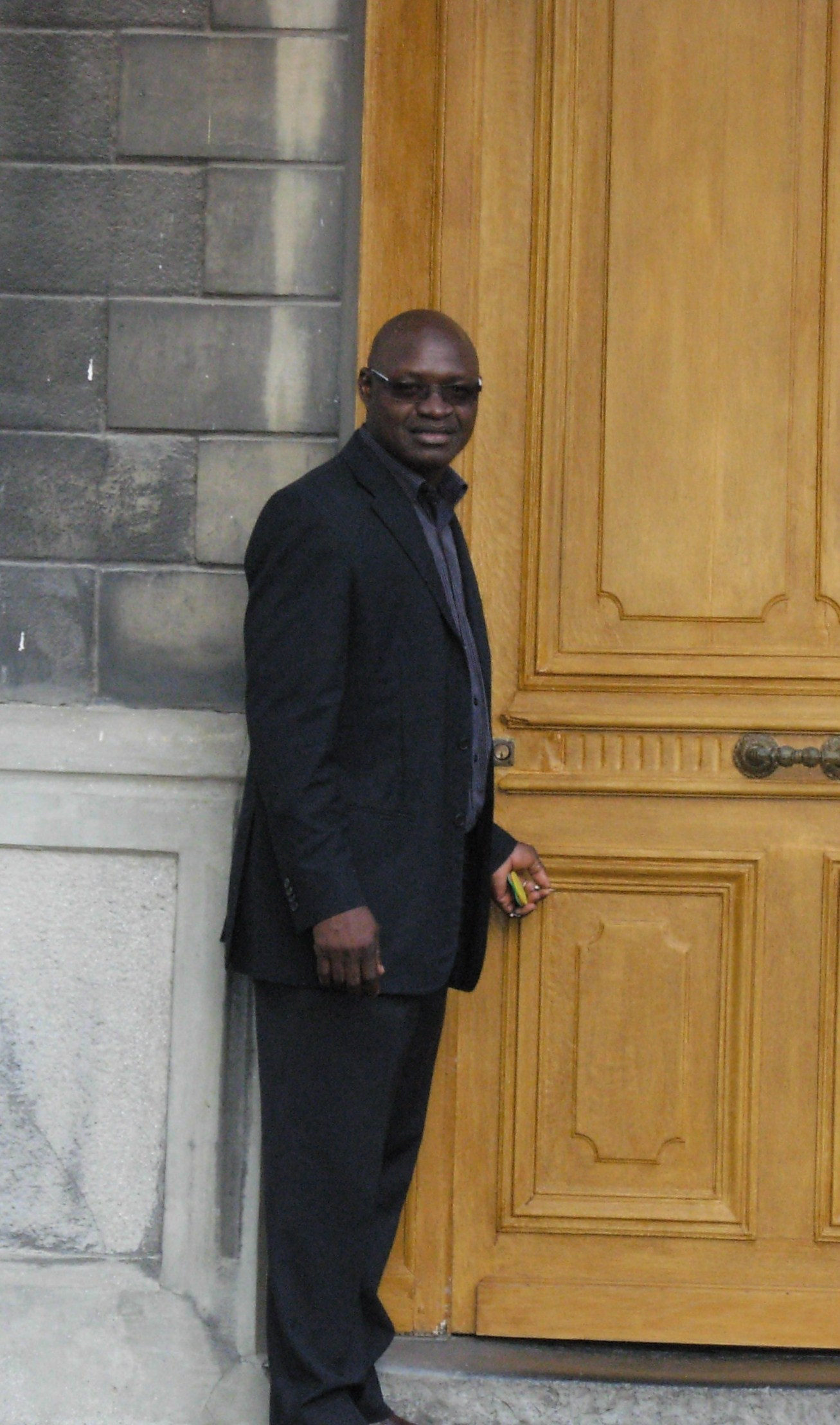 arrivée au presbytère de Condé juillet 2011