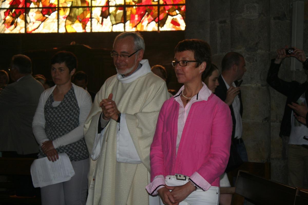 L'abbé Merville et madame Leleu.