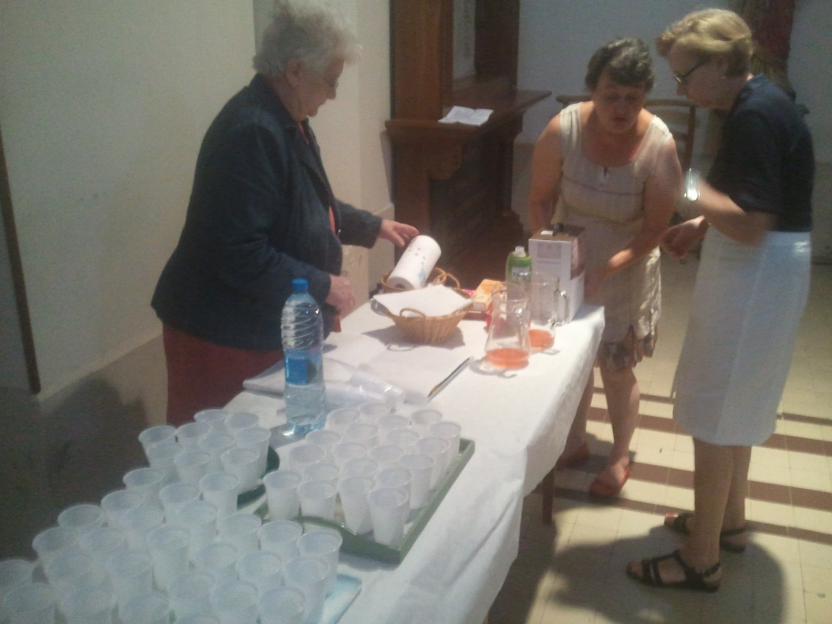 2. accueil Pere Simon Honnecourt 19 juillet 2014