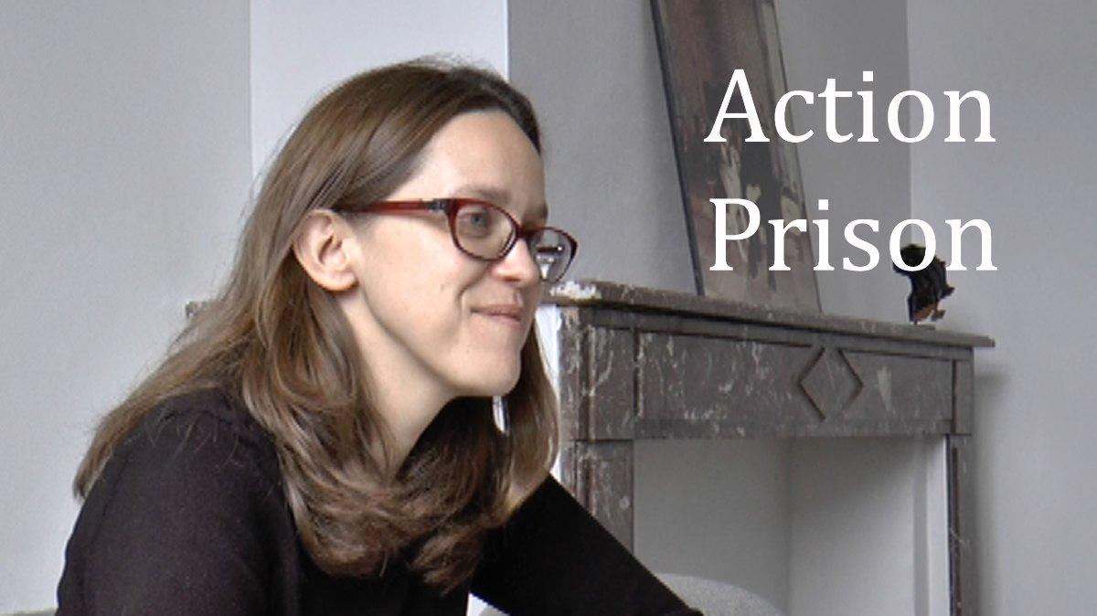 Elle est responsable de la thématique Action Prison