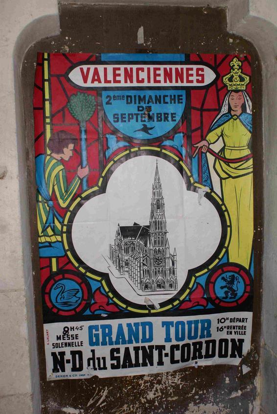 Promotion du Tour St Cordon, affiche ancienne