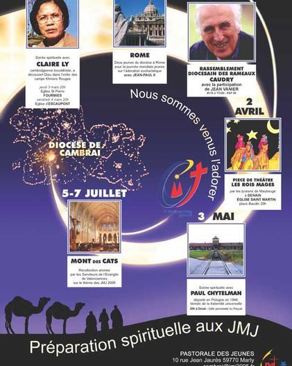 affiche diocésain JMJ