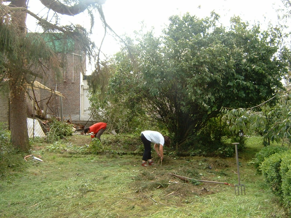 aide aux sinistrés de la tornade