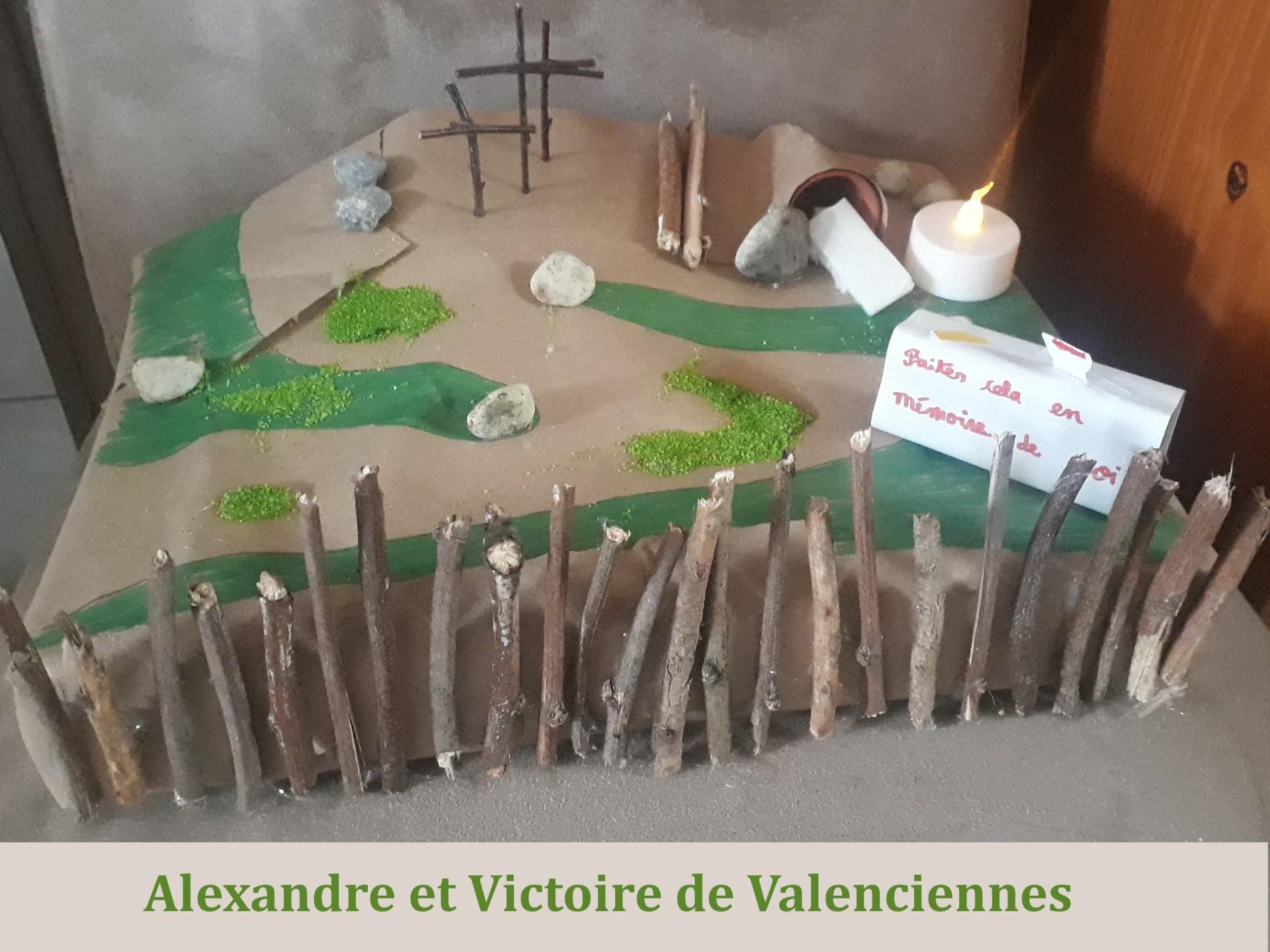 Jardin_Paques_2021 alexandre et victoire