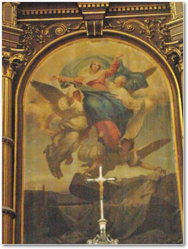 l'assomption de la Vierge Marie par HOUSEZ