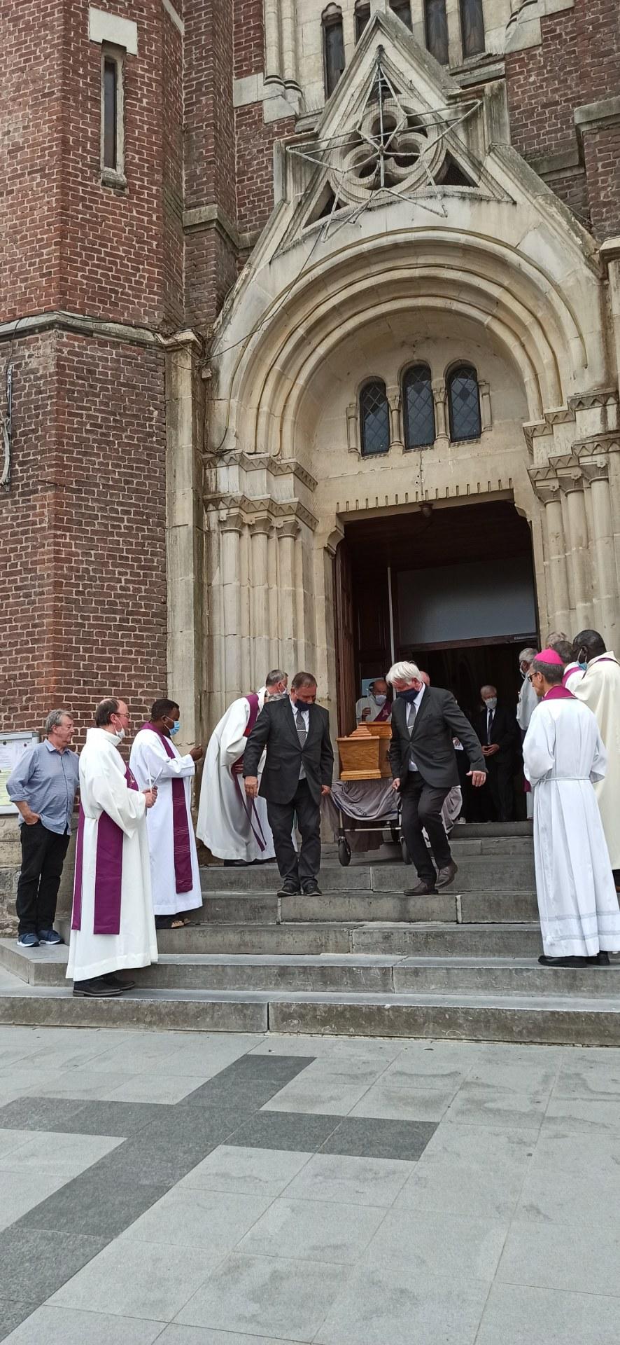 Auberchicourt Guy Seulin  enterrement (1)