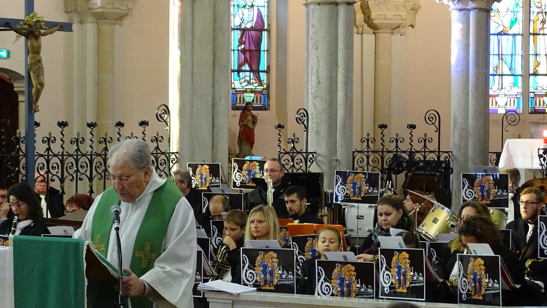 Auberchicourt messe sainte Cecile (4)