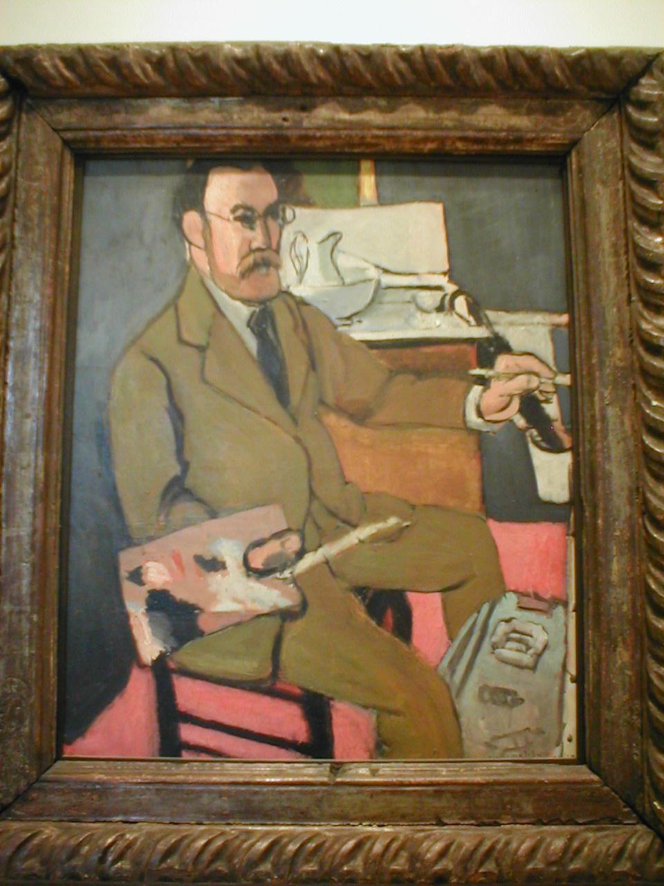 autoportrait ( Matisse)