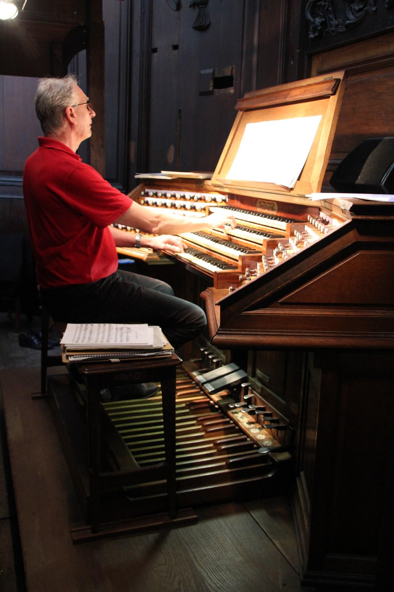 Aux grandes orgues...
