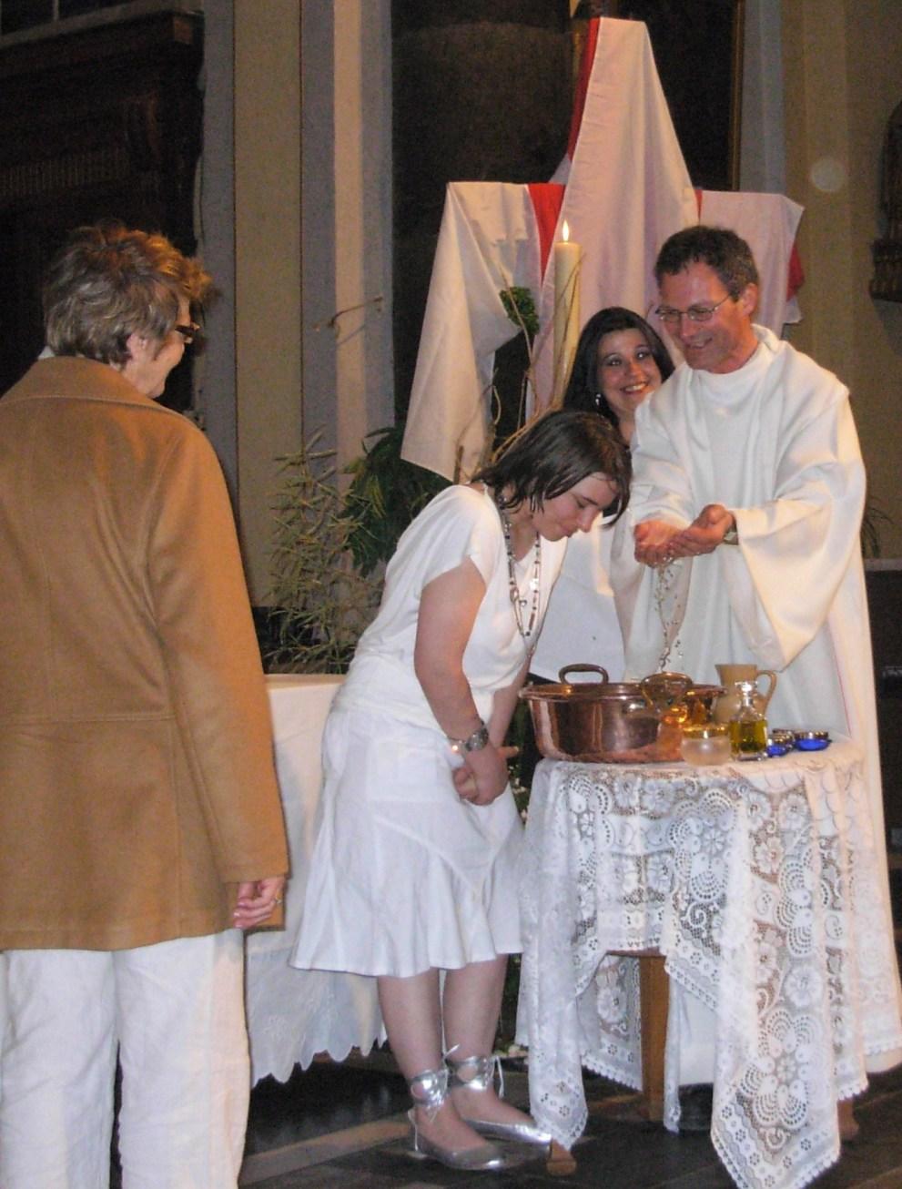 Baptême d'Angélique