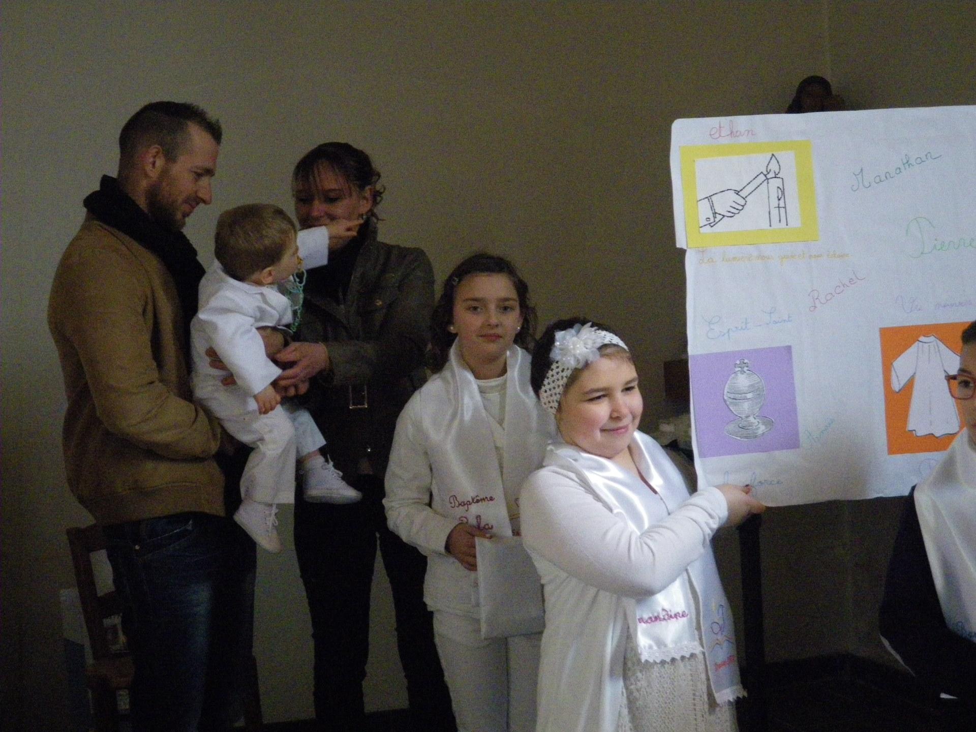 baptêmes d'enfants du catéchisme 2