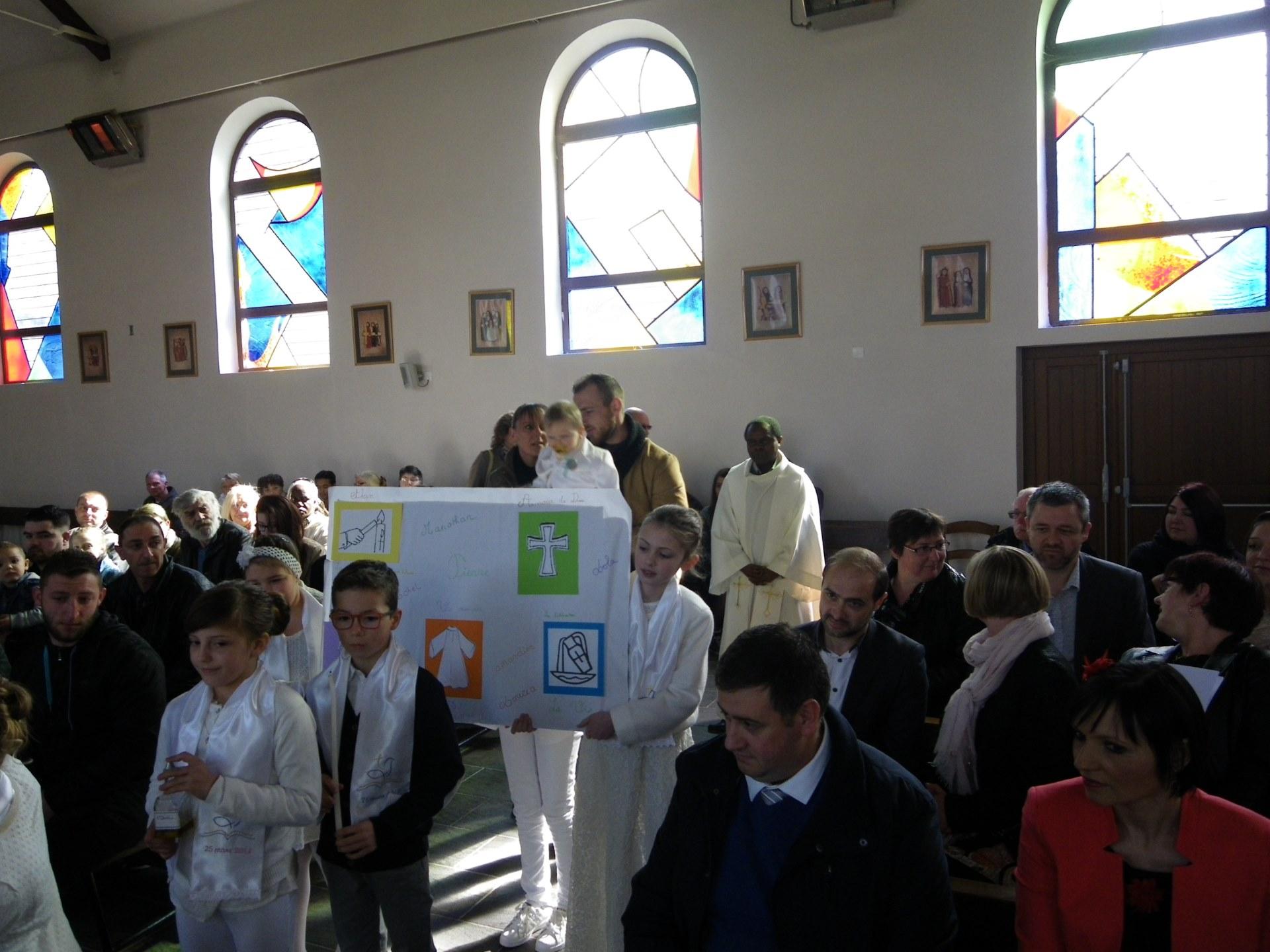 baptêmes d'enfants du catéchisme 4