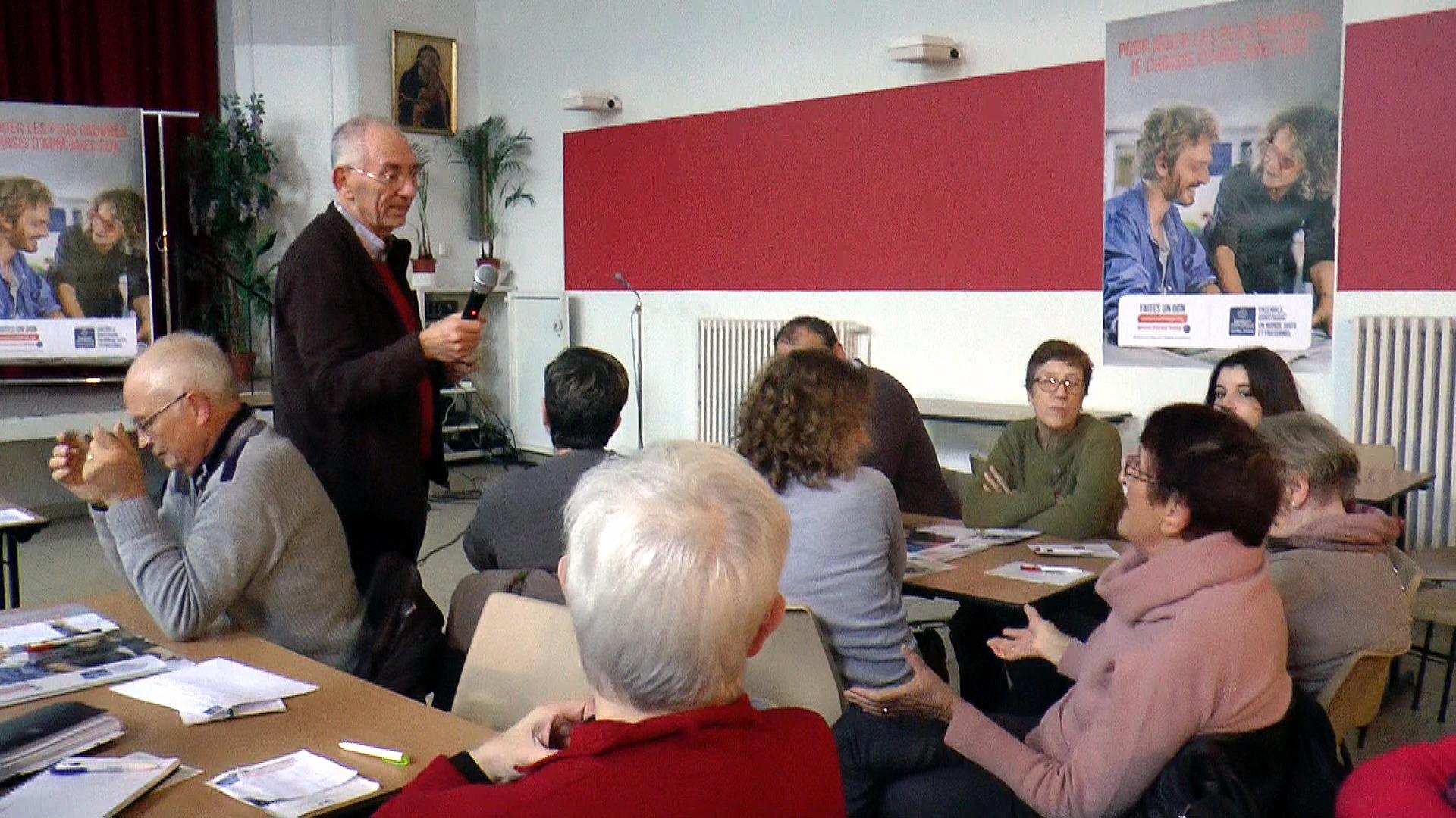Anime les débats, suite à la présentation du rapport statistique par Marianne Demaegdt