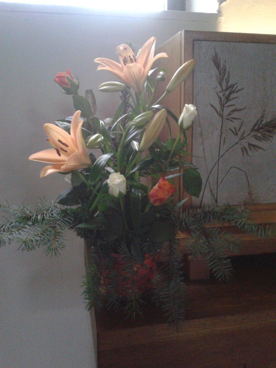 bouquet au Tabernacle