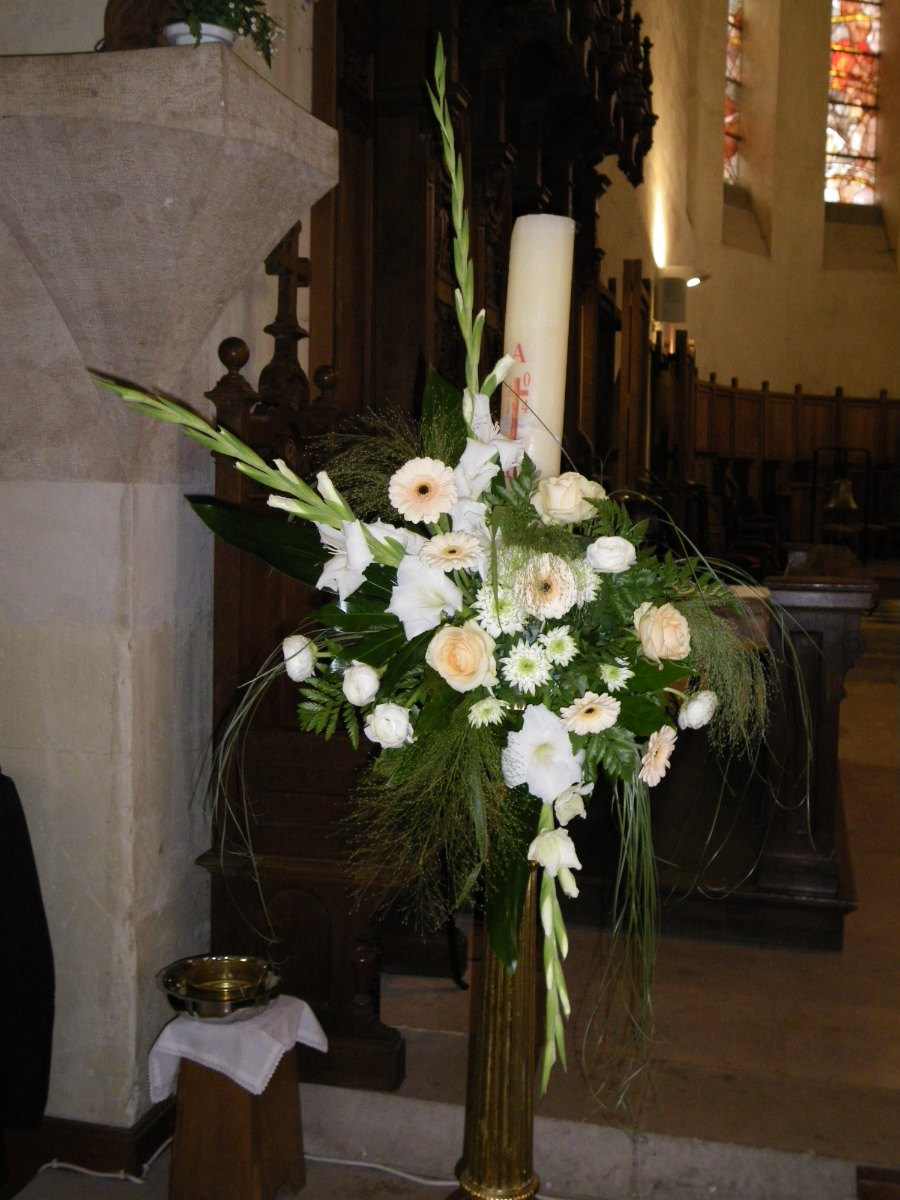 bouquet cierge Pascal