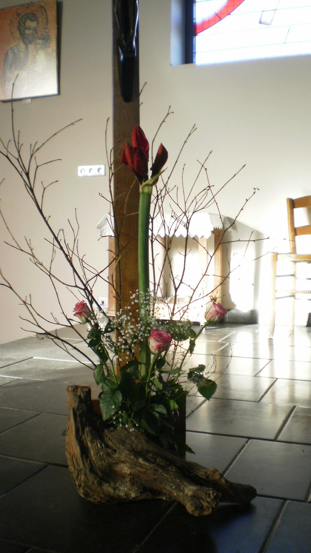 bouquet pour Christ Roi