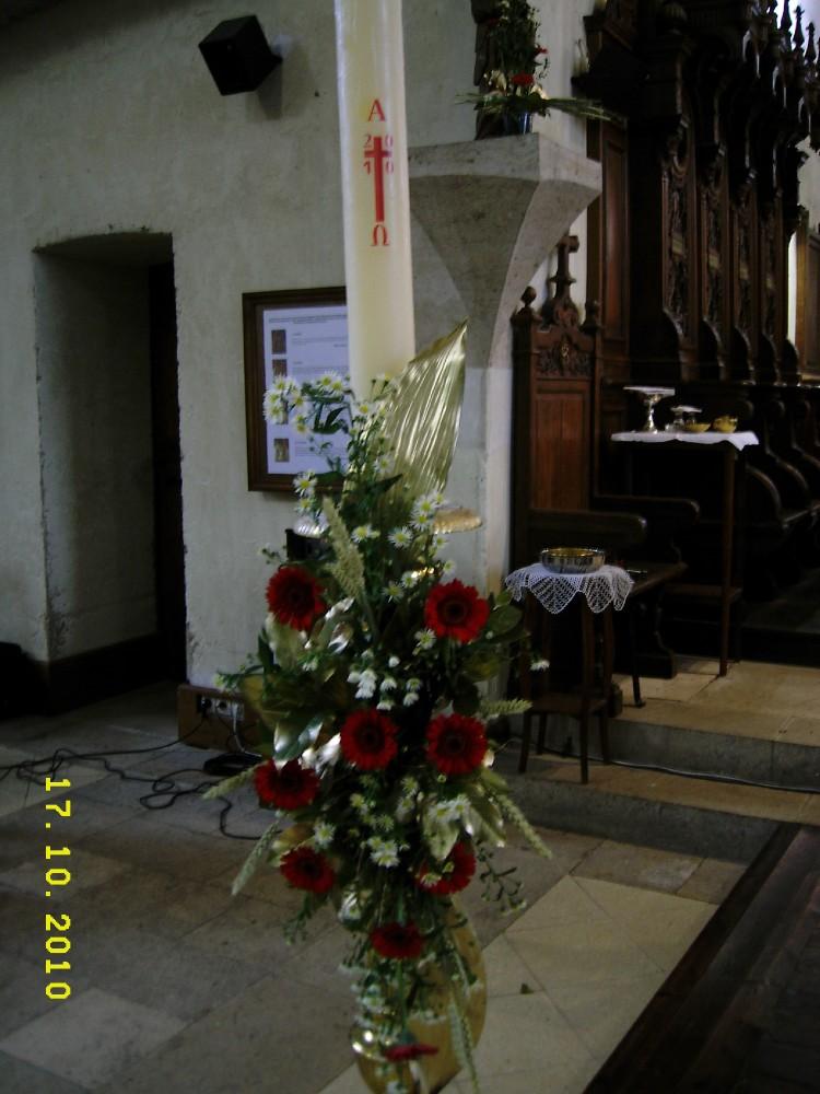 bouquet pour le Cierge Pascal