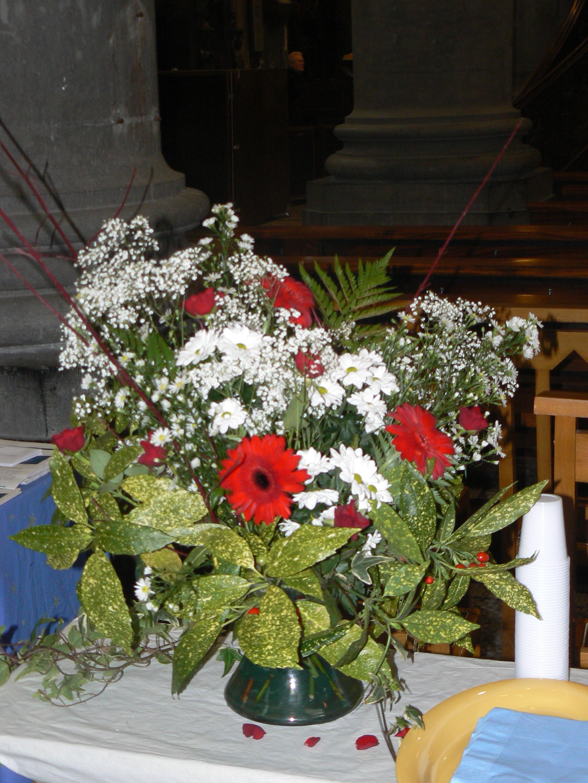 bouquet pour la procession d'offertoire