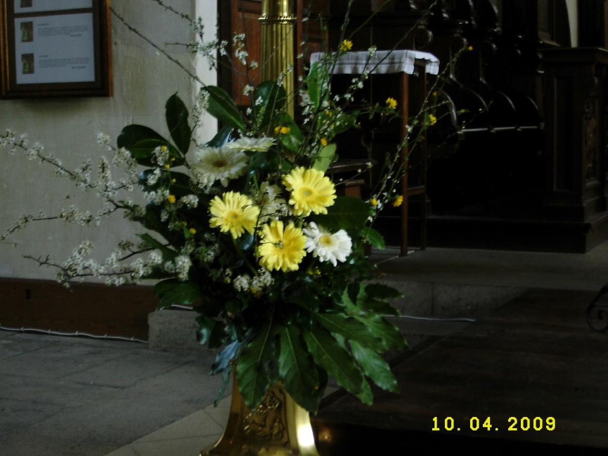 bouquet pour samedi saint