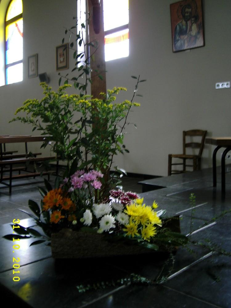 bouquet pour la Toussaint