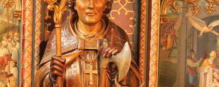 Buste de St Saulve