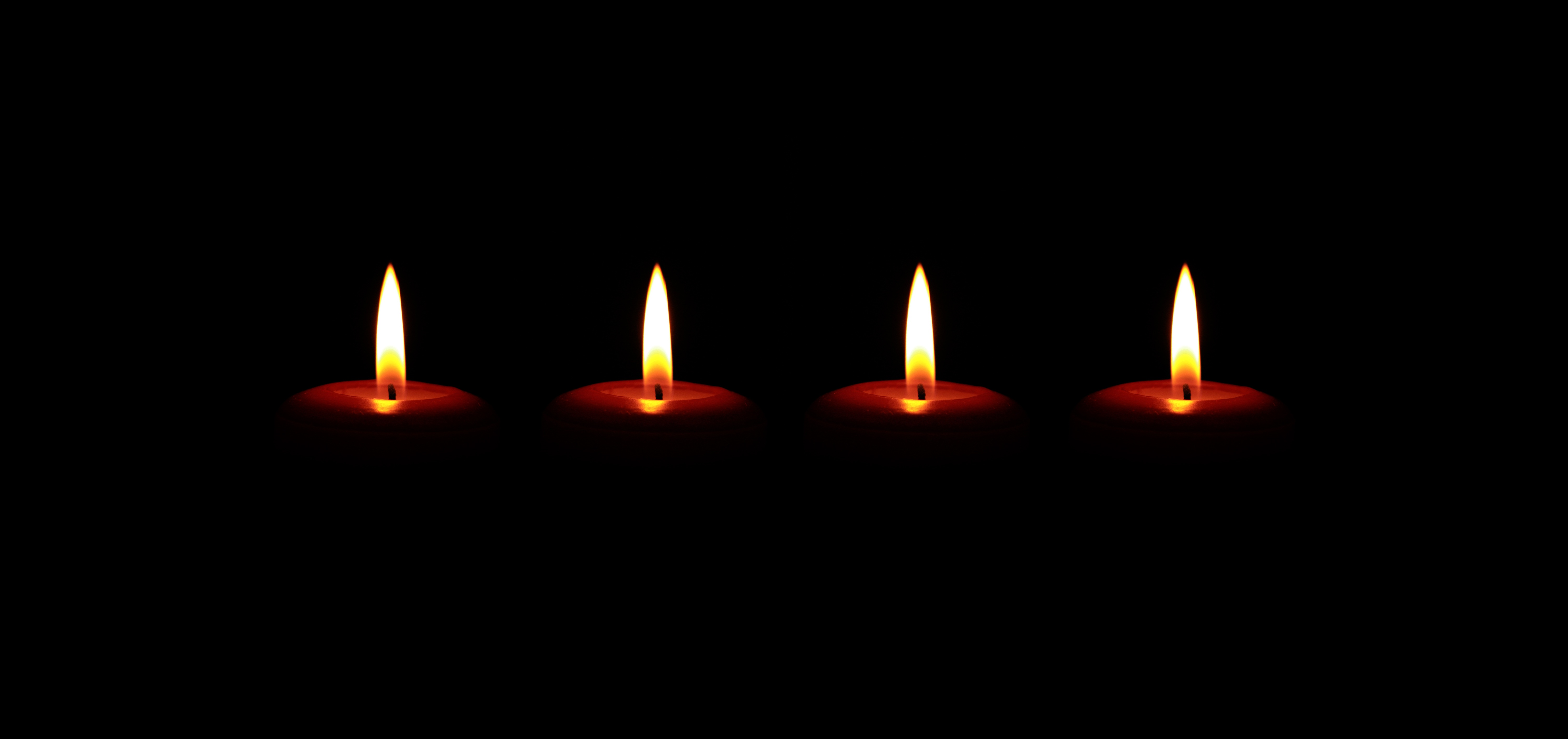 candles, christmas, advent