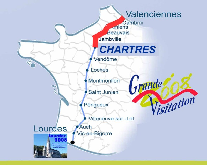Carte Chartres