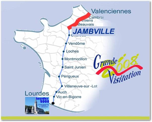 Carte Jambville