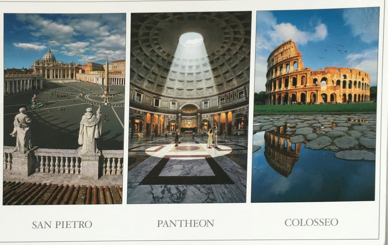 Carte postale Rome 1