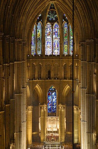 Cathedrale de Reims abside