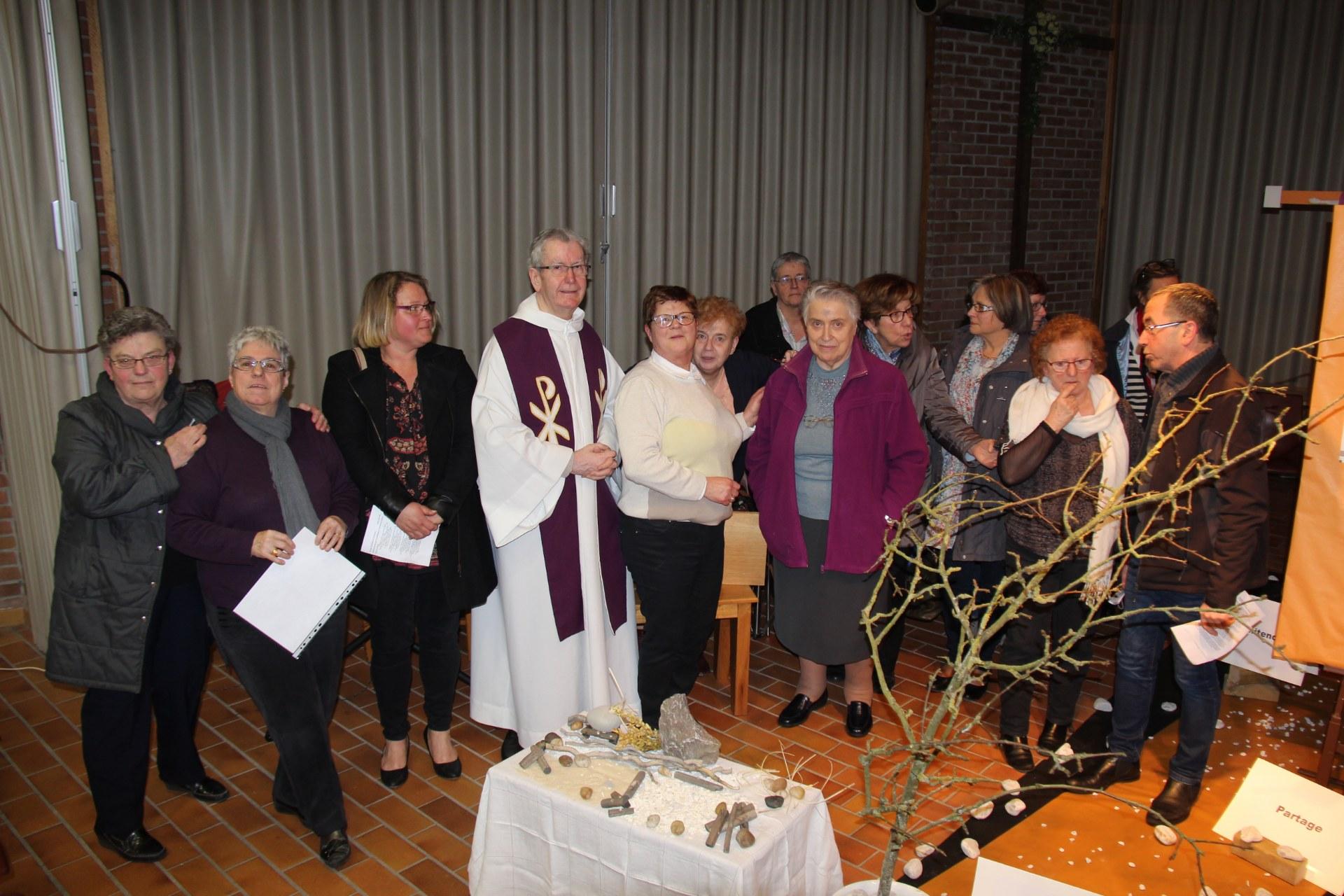 Célébration des Cendres Adultes et jeunes 49