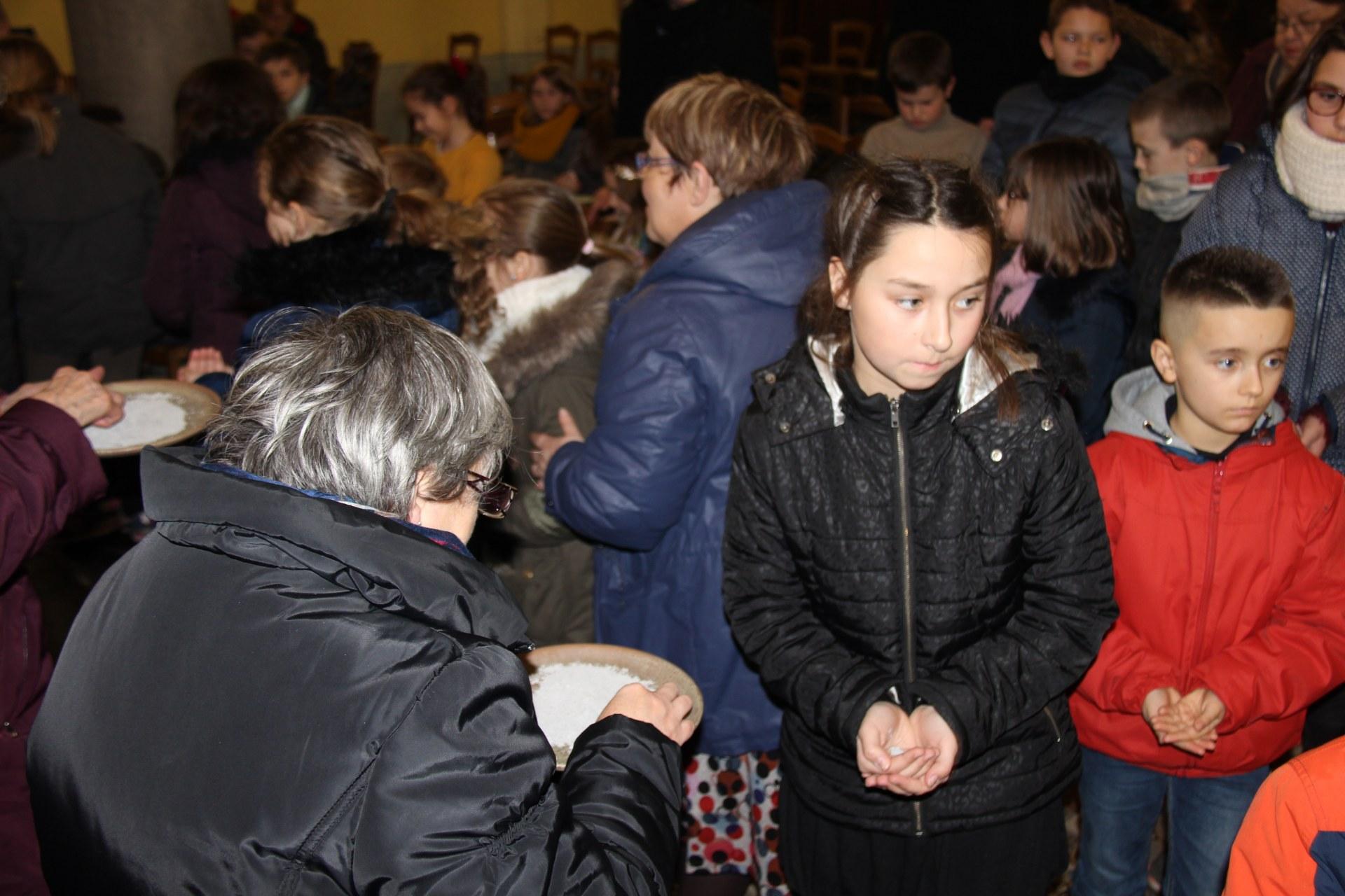 Célébration des Cendres enfants 16