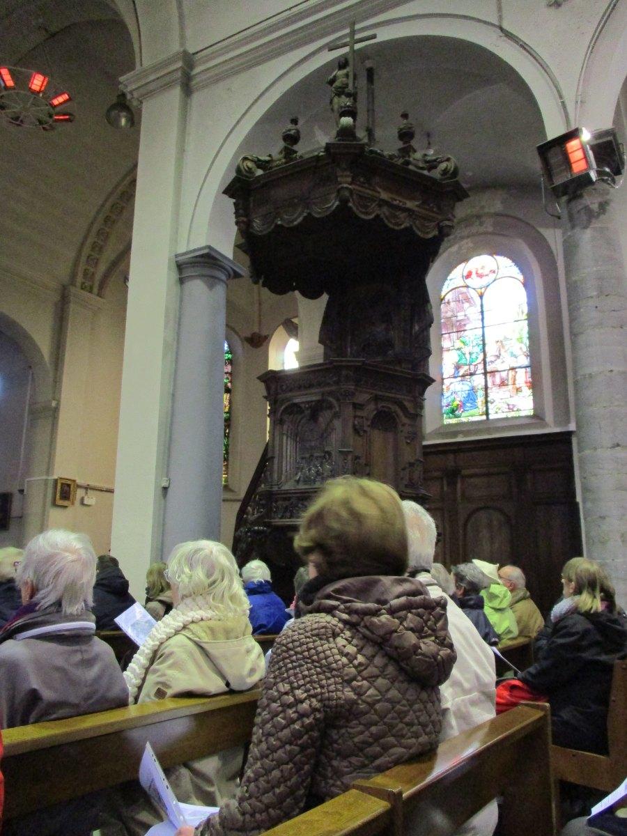 Chaire Eglise St Nicolas Raismes