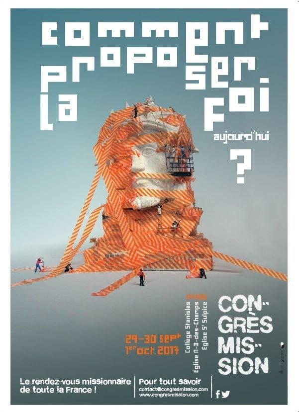Affiche congrès mission
