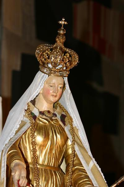 le beau sourire de Marie devant nos prières
