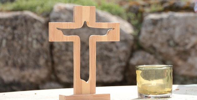 croix bougie