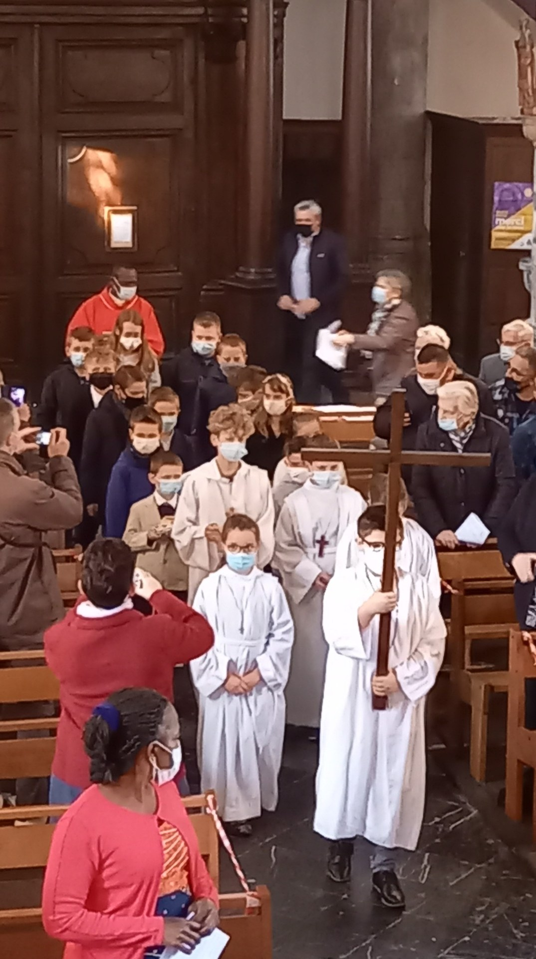 debut de la messe