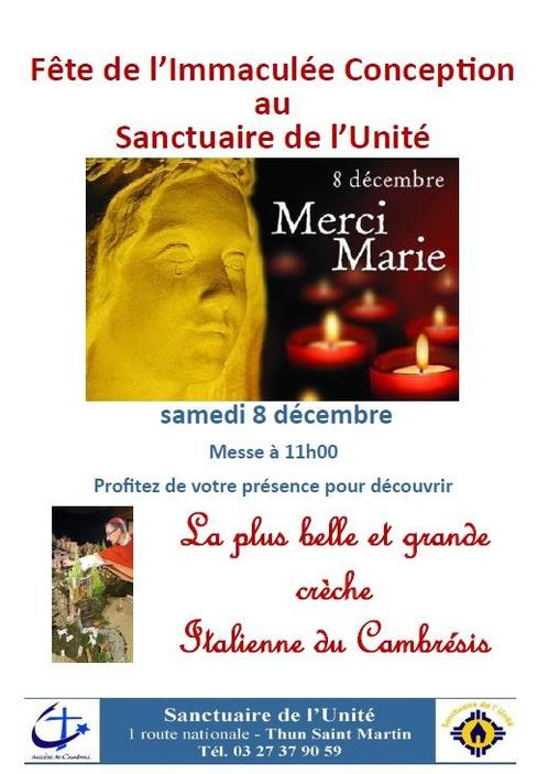 8 decembre-immaculee conception-sanctuaire de l un