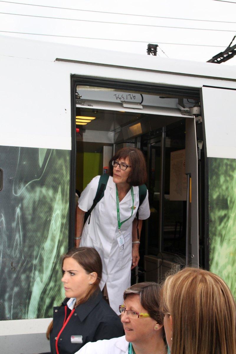 Départ du train Vert Douai 10