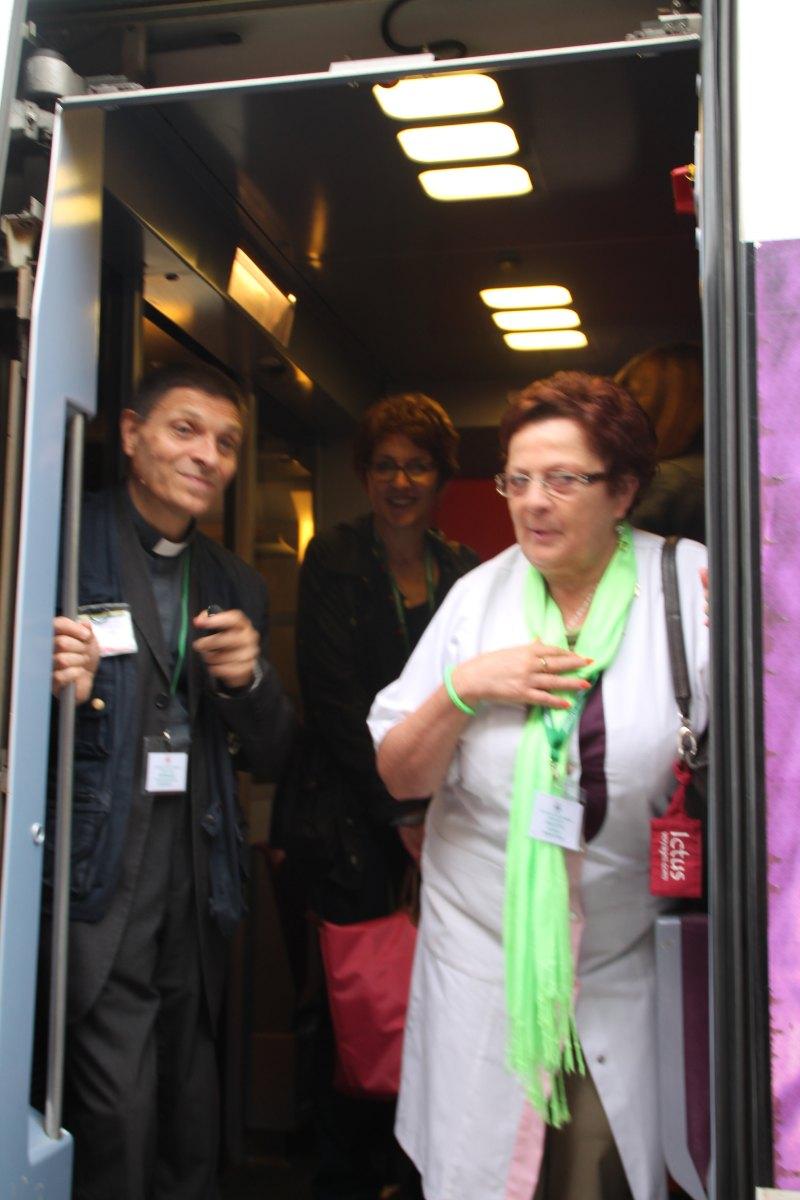 Départ du train Vert Douai 17
