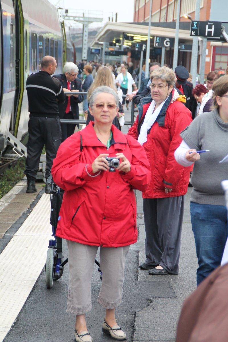 Départ du train Vert Douai 2