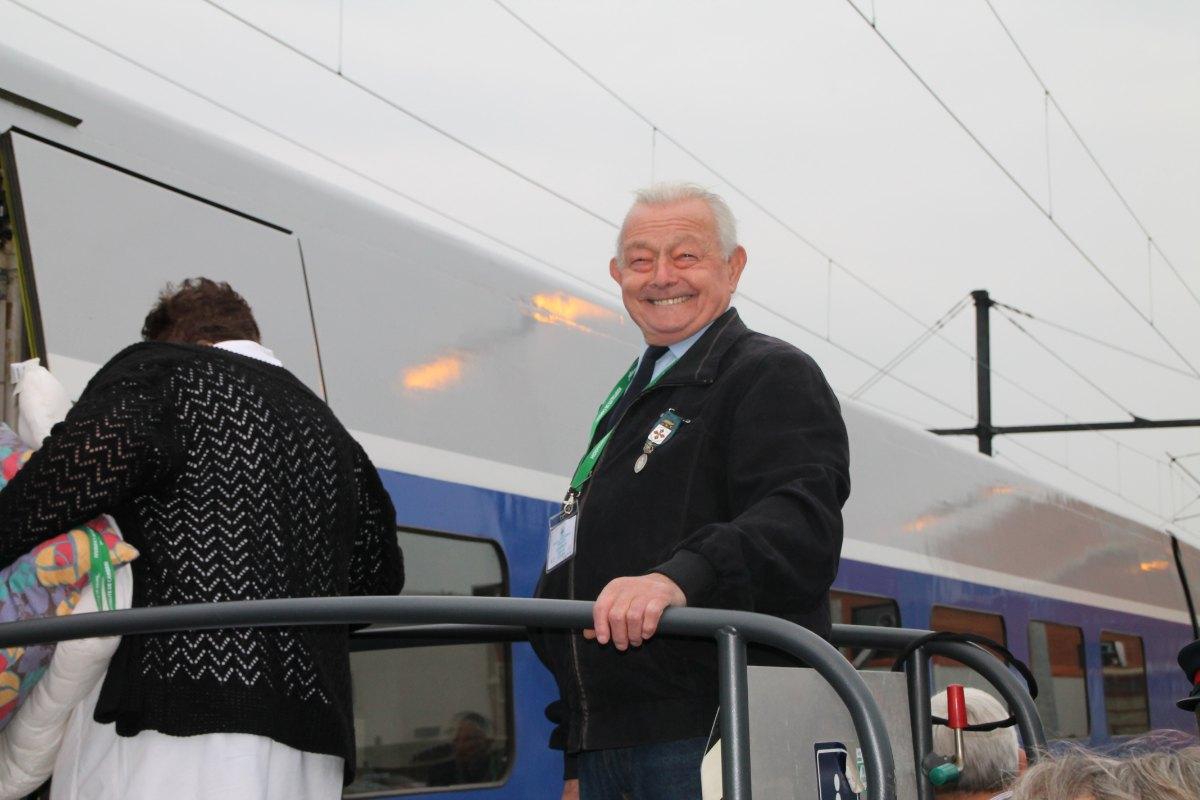 Départ du train Vert Douai 3