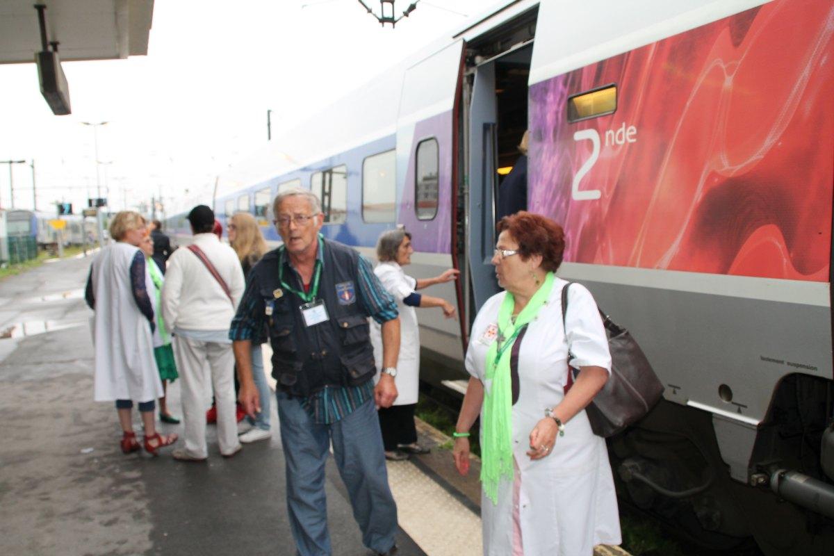 Départ du train Vert Douai 7