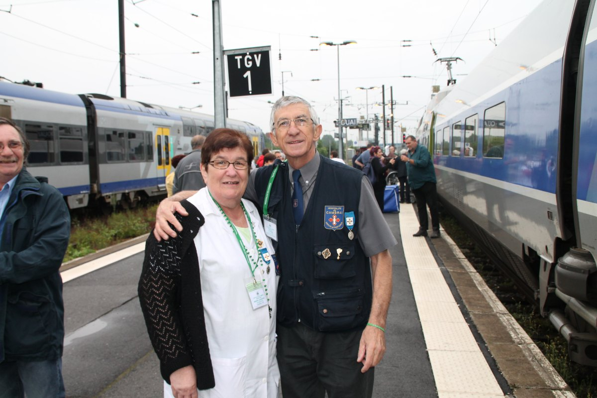 Départ du train Vert Douai 9