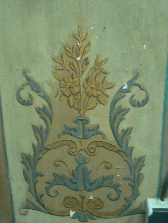 détail des fresques murales