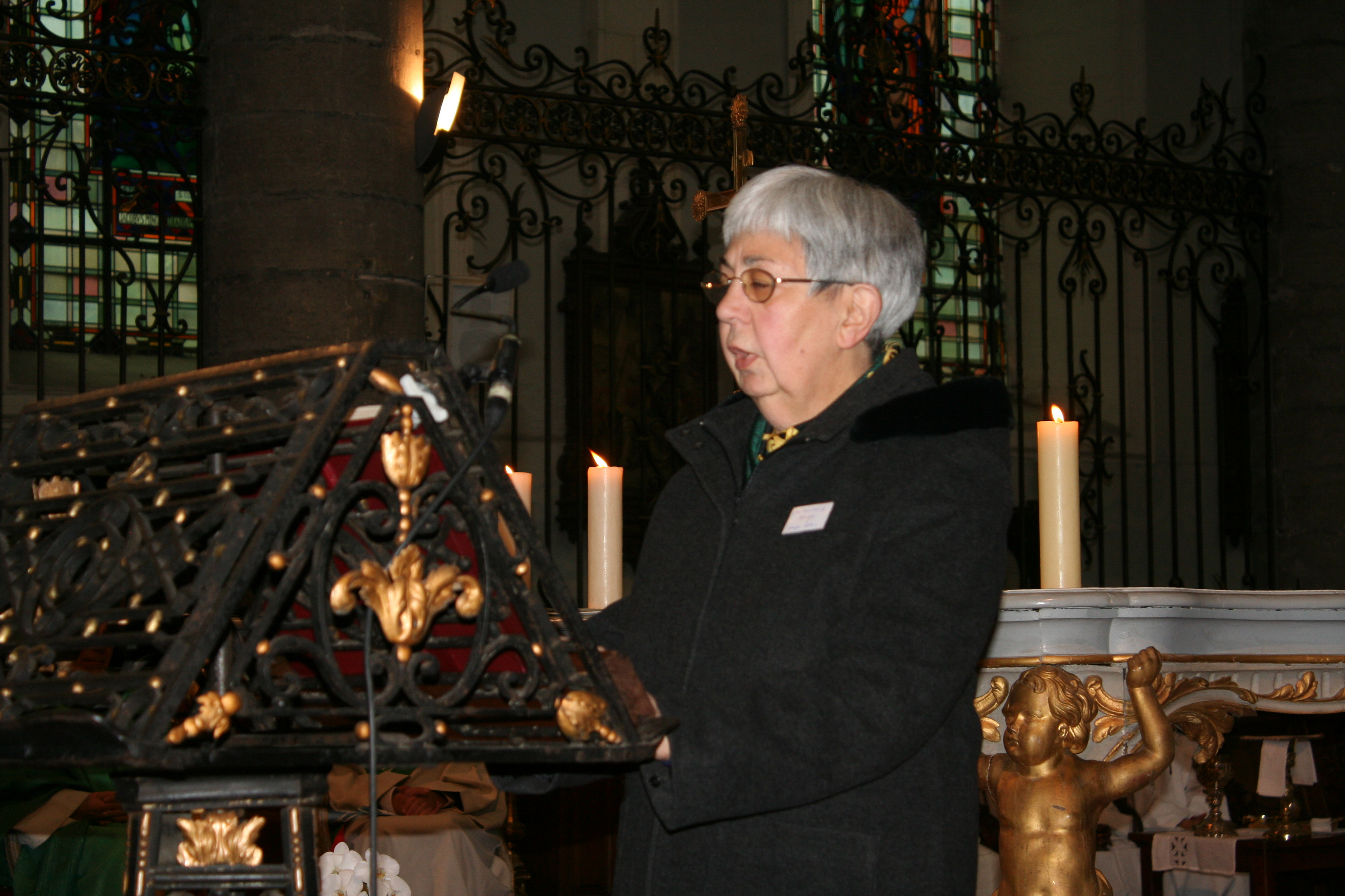 Deuxième lecture : lettre de Saint-Jacques