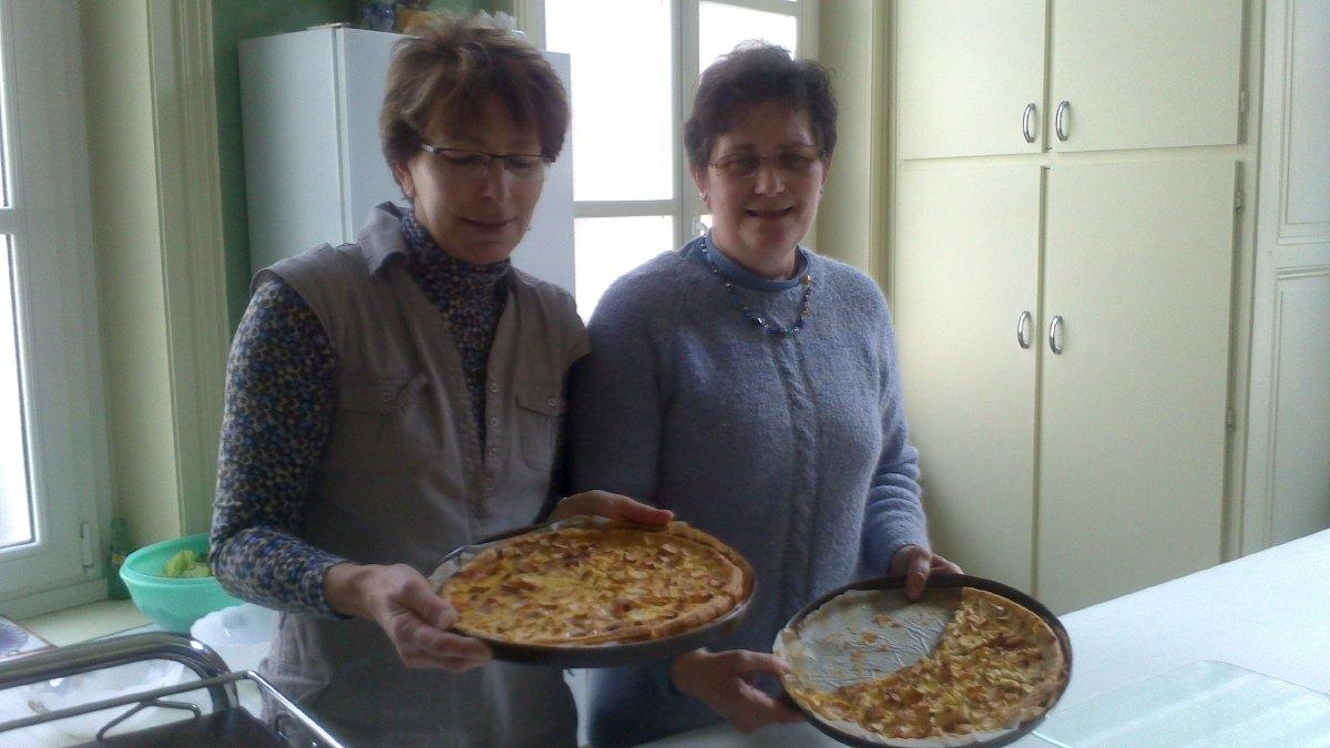 Françoise et Patricia